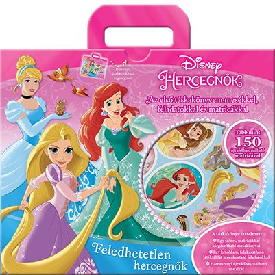 Könyv borító - Hercegnők – Feledhetetlen hercegnők (táskakönyv)