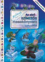 Könyv borító - Jégvarázs: Északi fények – Az első színezős mesekönyvem matricákkal