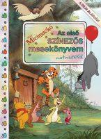 Könyv borító - Micimackó – Az első színezős mesekönyvem matricákkal