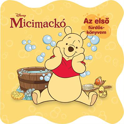 Könyv borító - Disney – Fürdő könyv – Micimackó