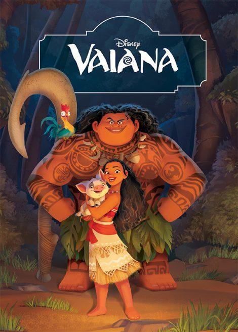 Könyv borító - Vaiana – Filmkönyv
