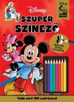 Könyv borító - Mickey egér – Szuper színező