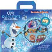 Könyv borító - Olaf karácsonyi kalandja – táskakönyv