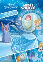Könyv borító - Disney Hercegnők – Mesés színező ajándék matricákkal
