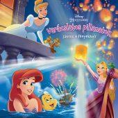Könyv borító - Disney Hercegnők: Varázslatos pillanatok – Játssz a fényekkel!