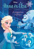 Könyv borító - Anna és Elza 8. –  A jégpalota rejtélye