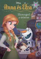 Könyv borító - Anna és Elza 9. –  Hercegnő a trónon