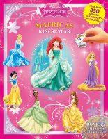 Könyv borító - Matricás kincsestár: Hercegnők