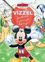 Könyv borító - Vízzel festhető színezőkönyv: Mickey egér és barátai