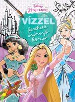 Könyv borító - Vízzel festhető színezőkönyv: Hercegnők